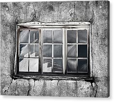 Window Reflection New Mexico Acrylic Print