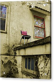 Acrylic Print featuring the photograph Window Seat by Arthur Fix