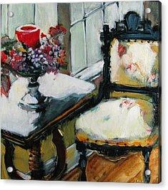 Window Seat Acrylic Print by Michelle Winnie