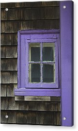 Purple Window - Window Series 04 Acrylic Print