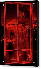 Window Shade 2/10 Acrylic Print