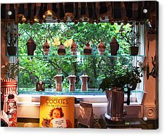 Acrylic Print featuring the photograph Window Shopping by Joanne Coyle