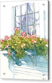 Window Sill Acrylic Print by Sloane FinneganAllen