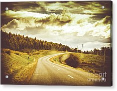 Window To A Rural Road Acrylic Print