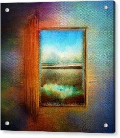 Window To Anywhere Acrylic Print