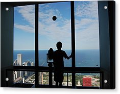 Window To Discovery Acrylic Print
