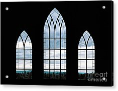 Acrylic Print featuring the photograph Window To God's Country by Brad Allen Fine Art