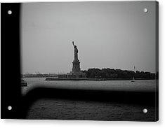 Window To Liberty Acrylic Print