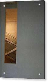 Window To Stairs Acrylic Print by Jeff Porter