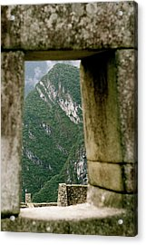 Window To The Gifts Of The Pachamama Acrylic Print