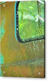 Window To The Past Acrylic Print by Jan Amiss Photography