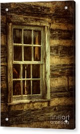 Window To The Past Acrylic Print by Lois Bryan
