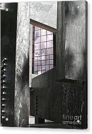 Window To The Sky Acrylic Print by Keith Dillon