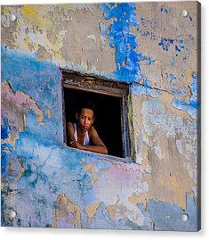 Window To The World Acrylic Print