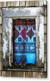 Window Toward The Sea Acrylic Print