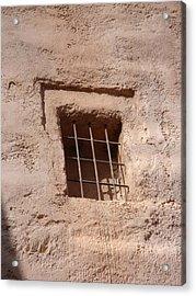 Window Warmth Acrylic Print by Kim Chernecky