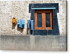 Acrylic Print featuring the photograph Window by Yew Kwang