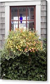 Windowbox - Nantucket Acrylic Print