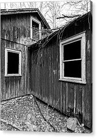 Acrylic Print featuring the photograph Windows 3 by Alan Raasch