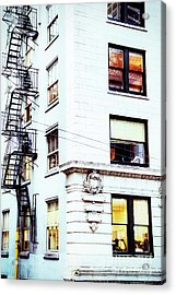 Windows And Stairs Acrylic Print
