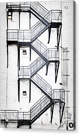 Windows And Stairs II Acrylic Print
