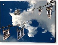 Windows And The Sky Acrylic Print