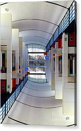 Acrylic Print featuring the photograph Windows by Brian Jones