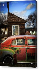 Acrylic Print featuring the photograph Windows by Cat Connor