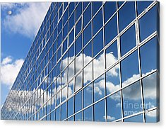 Windows Cloud Acrylic Print by Tim Gainey