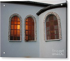 Windows Acrylic Print by Iglika Milcheva-Godfrey