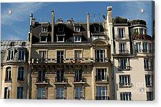 Windows In Paris By Taikan Acrylic Print