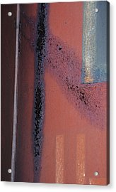 Windows In Rain  Acrylic Print