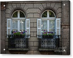 Windows In Toulouse Acrylic Print