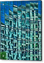 Windows In Windows Acrylic Print