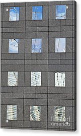 Acrylic Print featuring the photograph Windows Of 2 World Financial Center   by Sarah Loft
