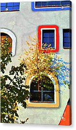 Windows Of Hundertwasser Acrylic Print