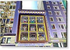 Windows On Exibitions Acrylic Print