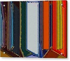 Windows Acrylic Print by Patrick Guidato
