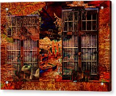 Windows To The Soul Acrylic Print by Sarah Vernon