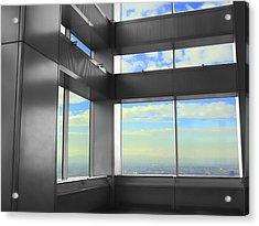 Windows To Tokyo Acrylic Print