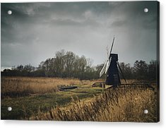Acrylic Print featuring the photograph Windpump by James Billings