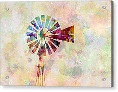 Winds Of Iowa Acrylic Print