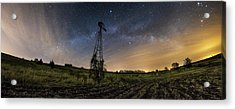 Winds Of Time Acrylic Print by Aaron J Groen
