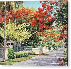 Windsor Avenue Acrylic Print