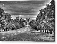 Windsor Castle  Infrared Acrylic Print