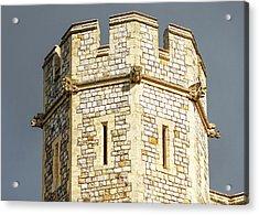 Windsor Castle Detail Acrylic Print