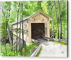 Windsor Mills Bridge Acrylic Print