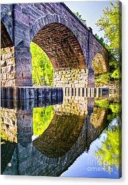 Windsor Rail Bridge Acrylic Print