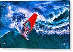 Windsurfer 1 Acrylic Print