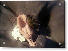 Windswept Nude Acrylic Print